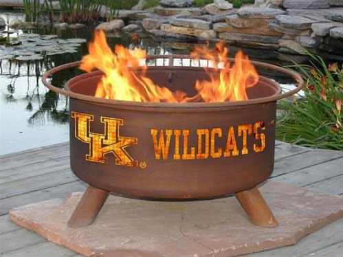 Choose Steel University Kentucky Fire Pit Product Photo