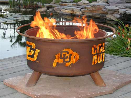 Exquisite Steel University Colorado Fire Pit Product Photo