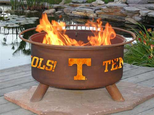Superb-quality Steel University Tennessee Knoxville Fire Pit Product Photo