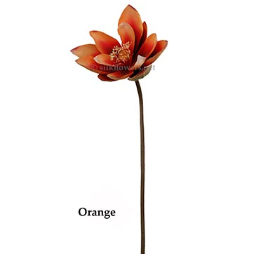 33 inch Lotus Flower (Set of 3) by ArtificialPlantsAndTrees.com