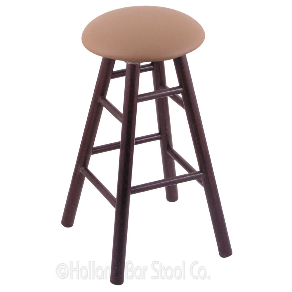Design Oak Swivel Bar Stools Cushion Product Photo