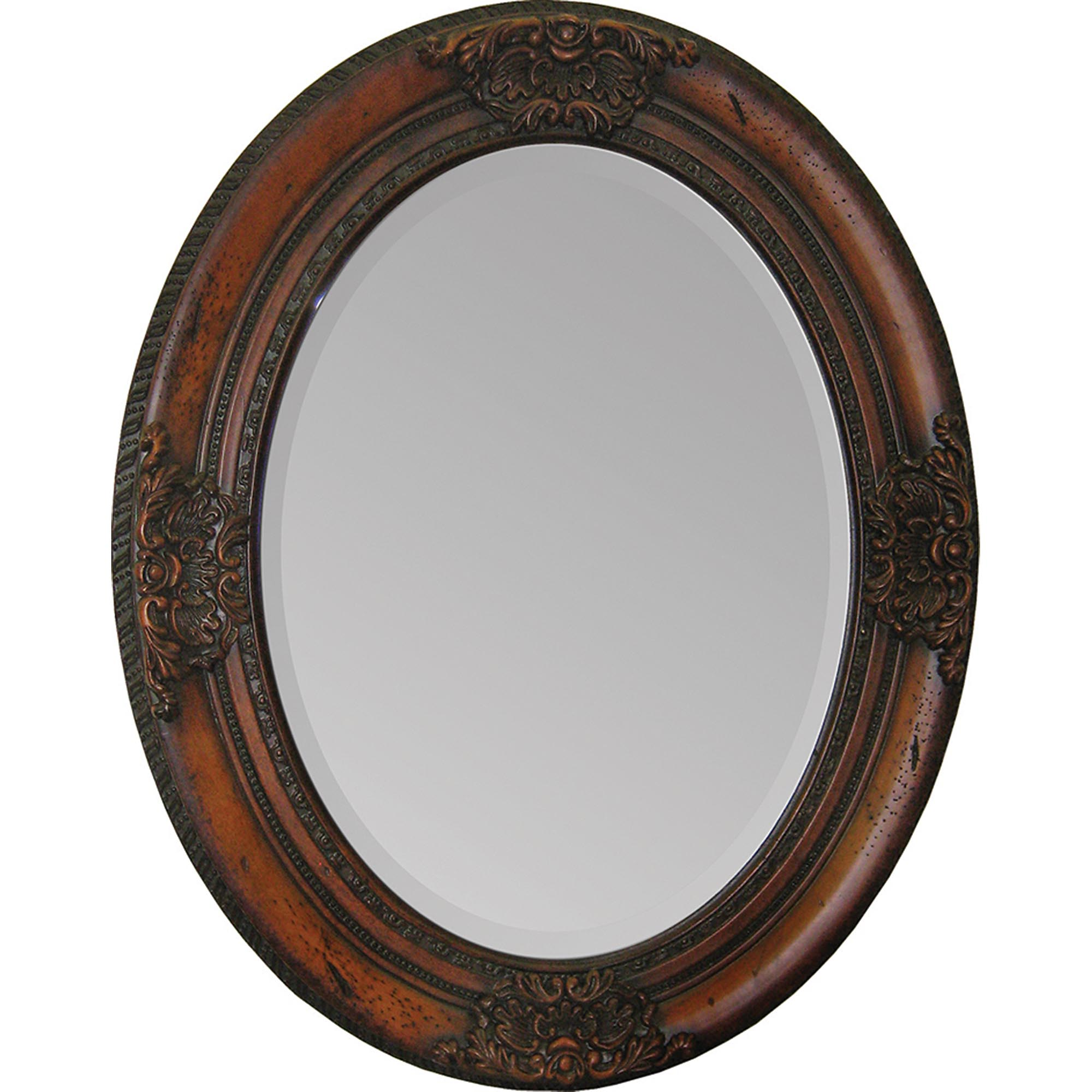 Select Cherry Chelsea Oval Mirror Product Photo