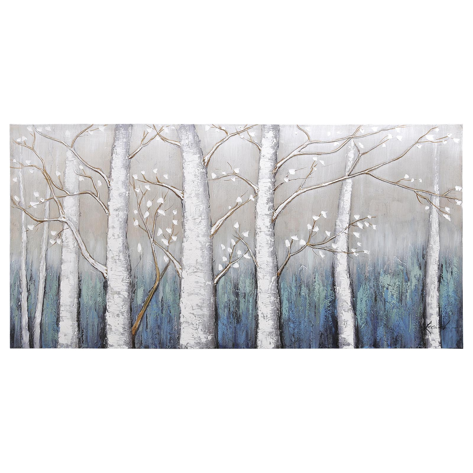 Echoes Rectangular Painting OL895
