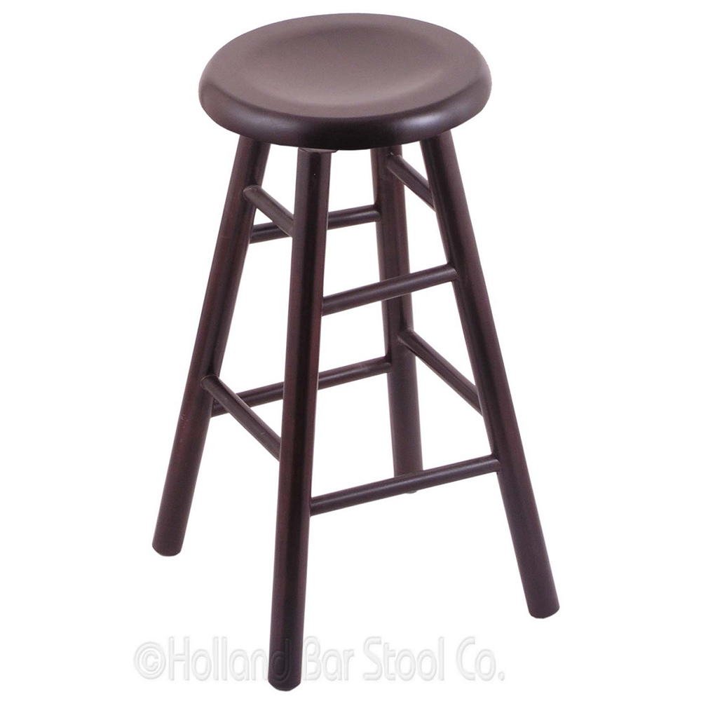 Learn more about Maple Swivel Bar Stool Saddle Dish Seat Product Photo