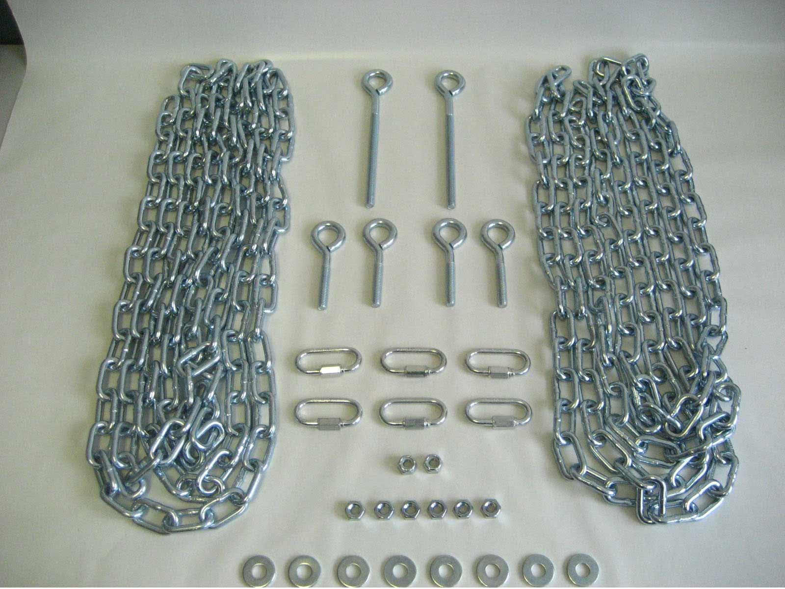 Cedar 30 Pc. Swing Hardware Kit