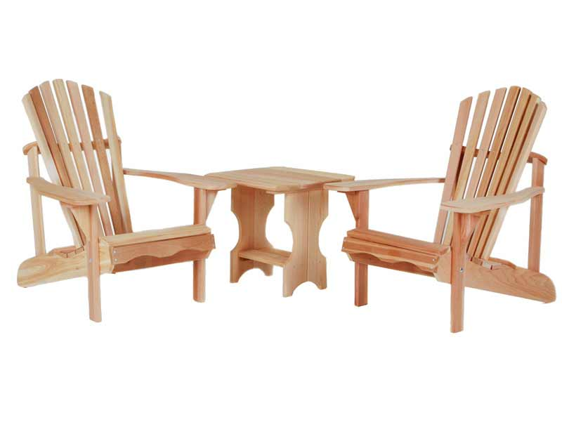 Order Cedar Side Table Adirondack Set Product Photo
