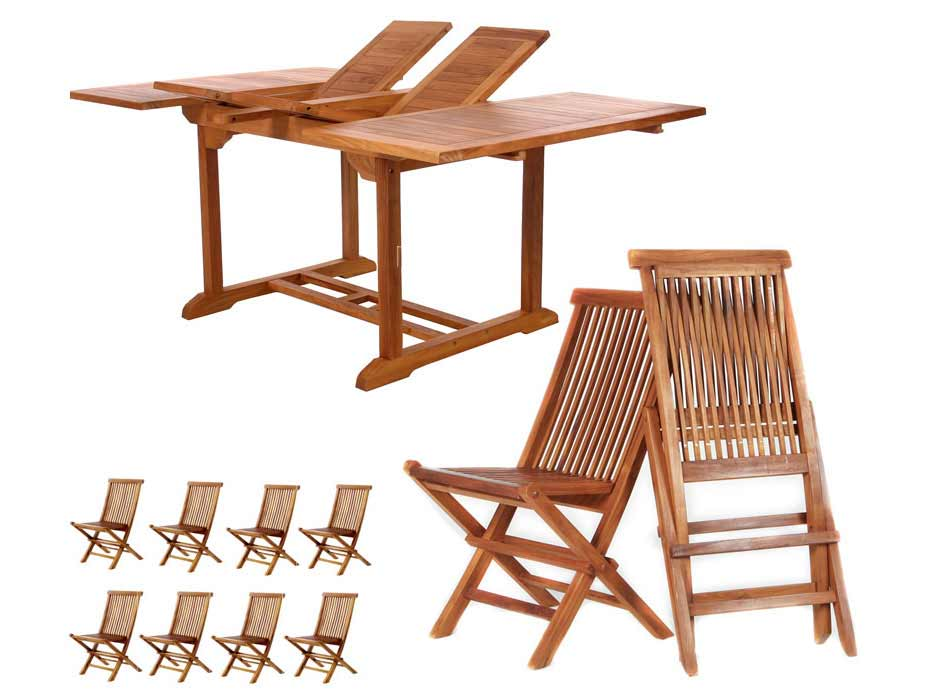Popular Pc-Butterfly-Table-Teak-Folding-Side-Chair-Set Product Image 324