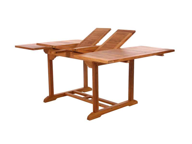 Butterfly Teak Extension Table