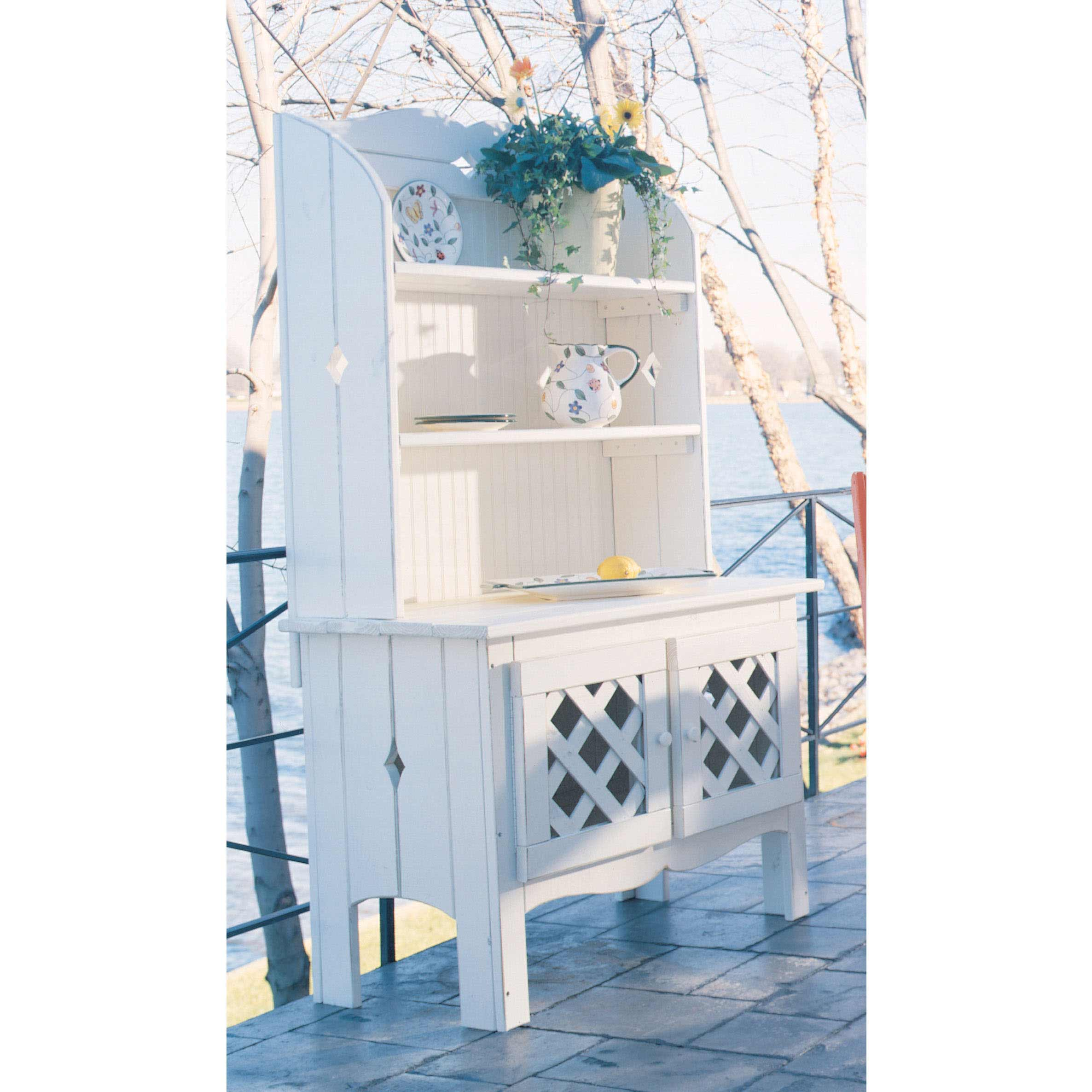Learn more about Companion Outdoor Hutch Product Photo