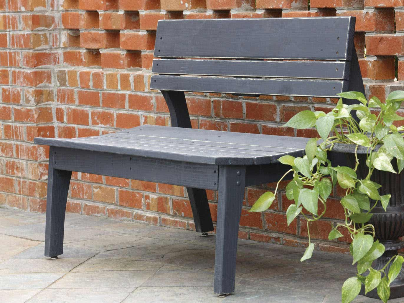 Choose Behrens Two Seat Bench Back Product Photo