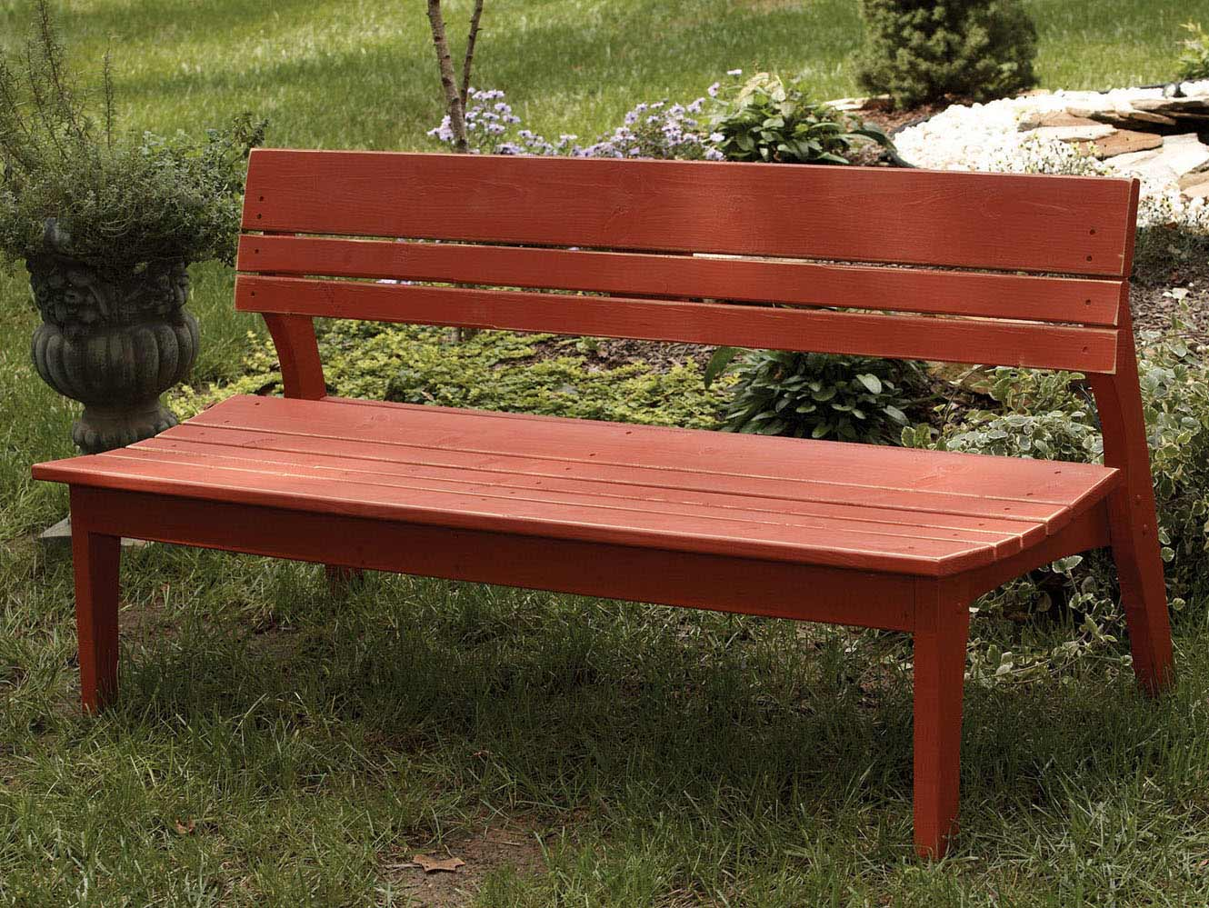 Special Behrens Four Seat Bench Back Product Photo