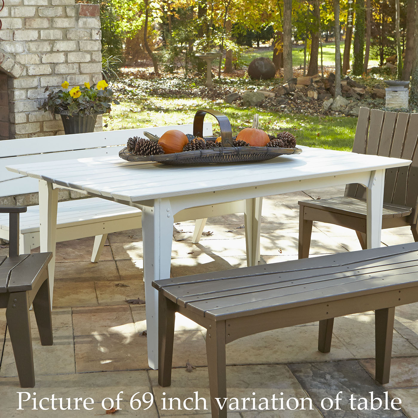 Choose Chair Hourglass Rectangular Outdoor Dining Table 2 1278