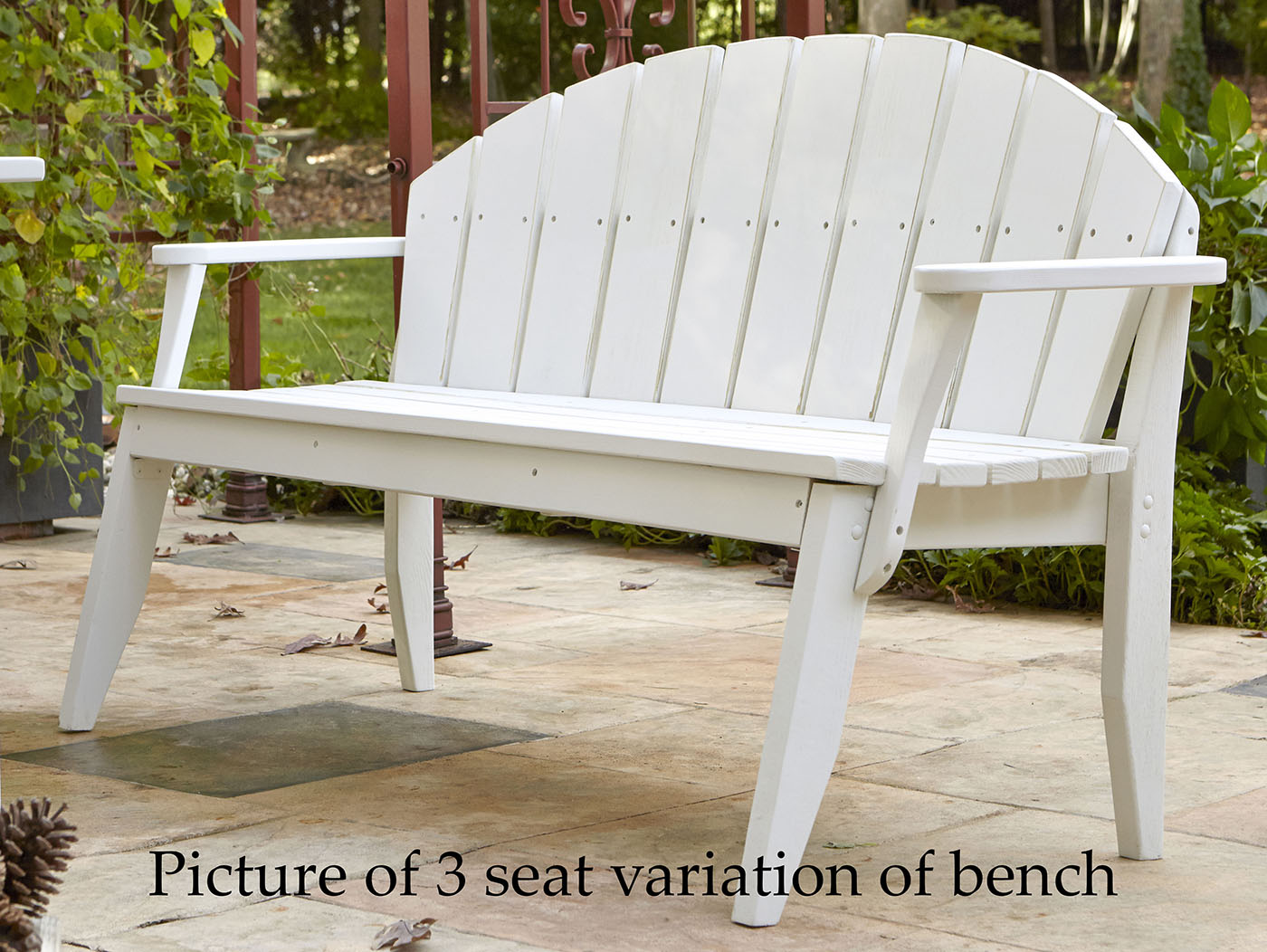 Design Chair Plaza Seat Outdoor Bench Product Photo
