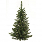 3 foot unlit camdon fir flat back wall tree - Flat Back Christmas Tree