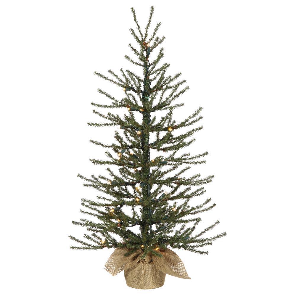 48 inch Angel Pine Tree: Warm White LED Lights B165041LED