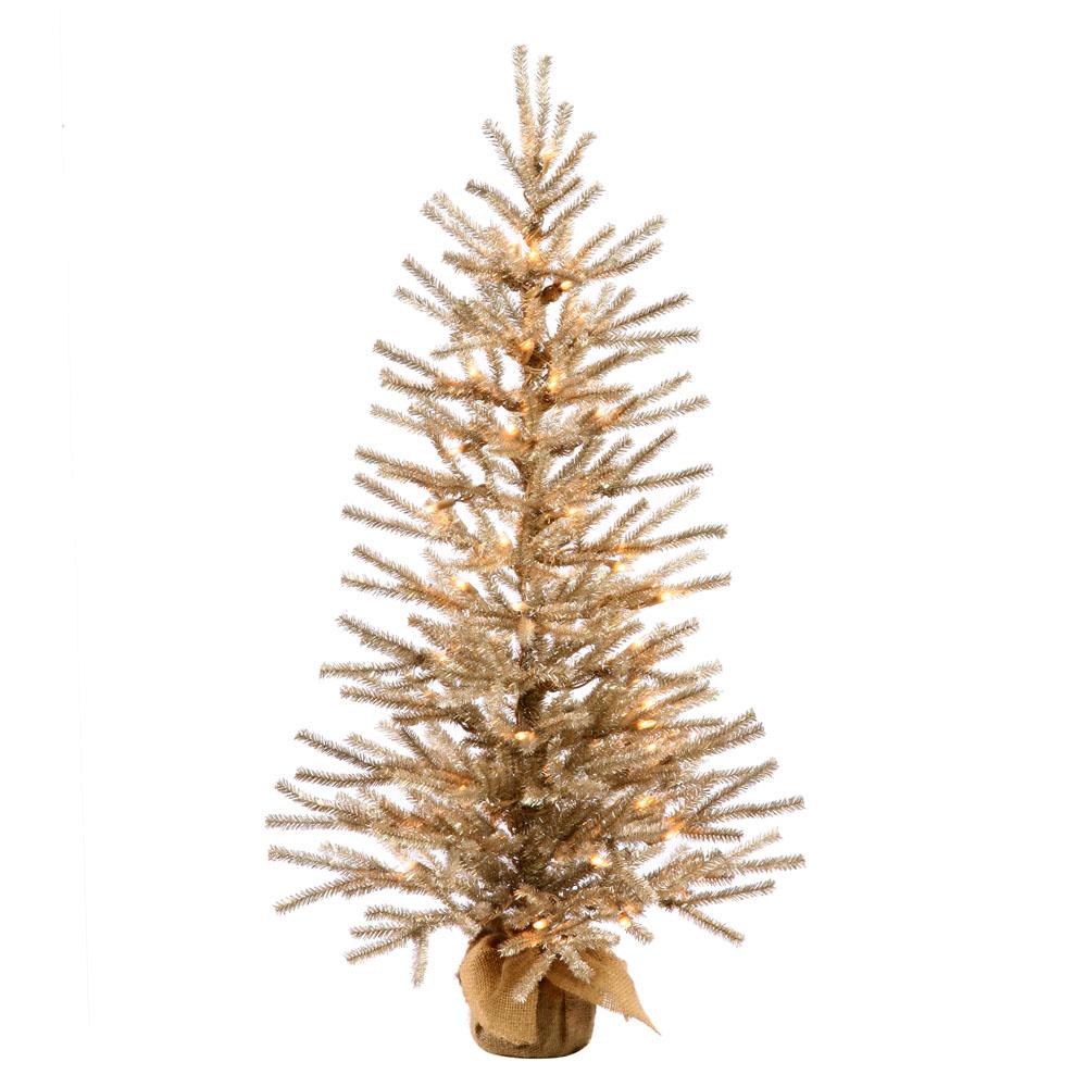 48 inch Mocha Tree: Warm White LED Lights B162348LED
