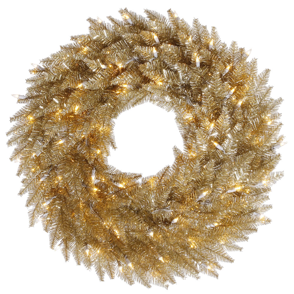 Choose Champagne-Fir-Wreath-Clear-Leds Product Picture 1272