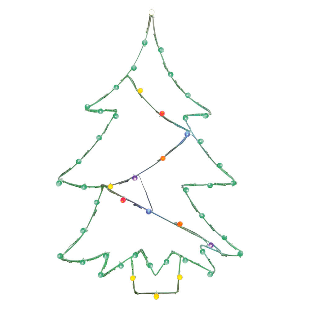 New Led Christmas Tree Wire Silhouette Product Photo