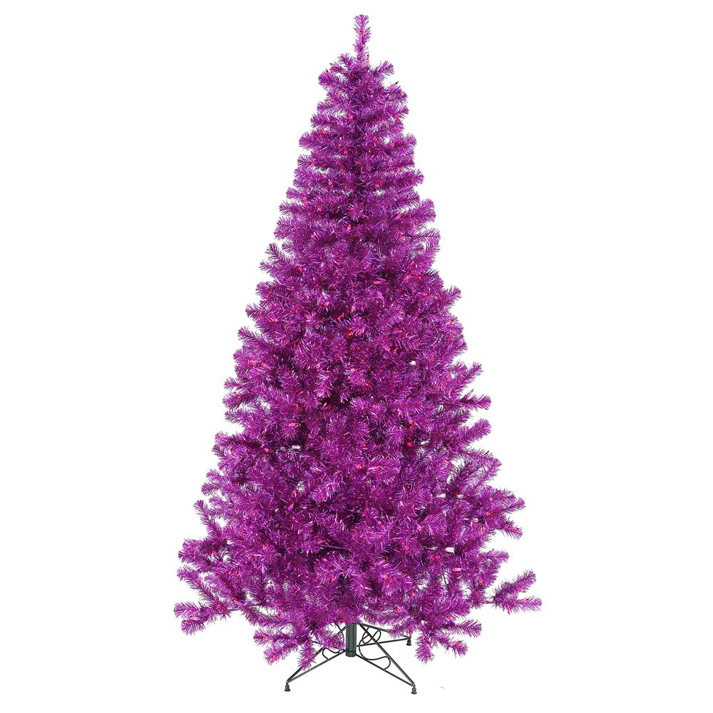 foot purple christmas tree purple mini lights b882071