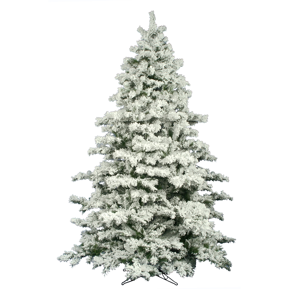 12 Ft Flocked Christmas Tree