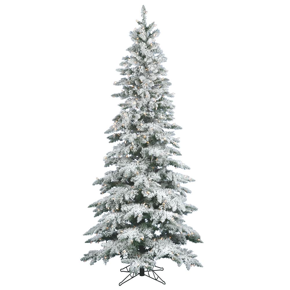 8 Ft Slim Artificial Christmas Trees