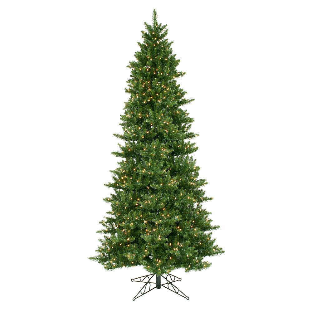 12 foot Slim Camdon Fir Christmas Tree: Clear Lights | A860891