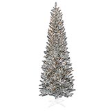 Pewter Tinsel Tree