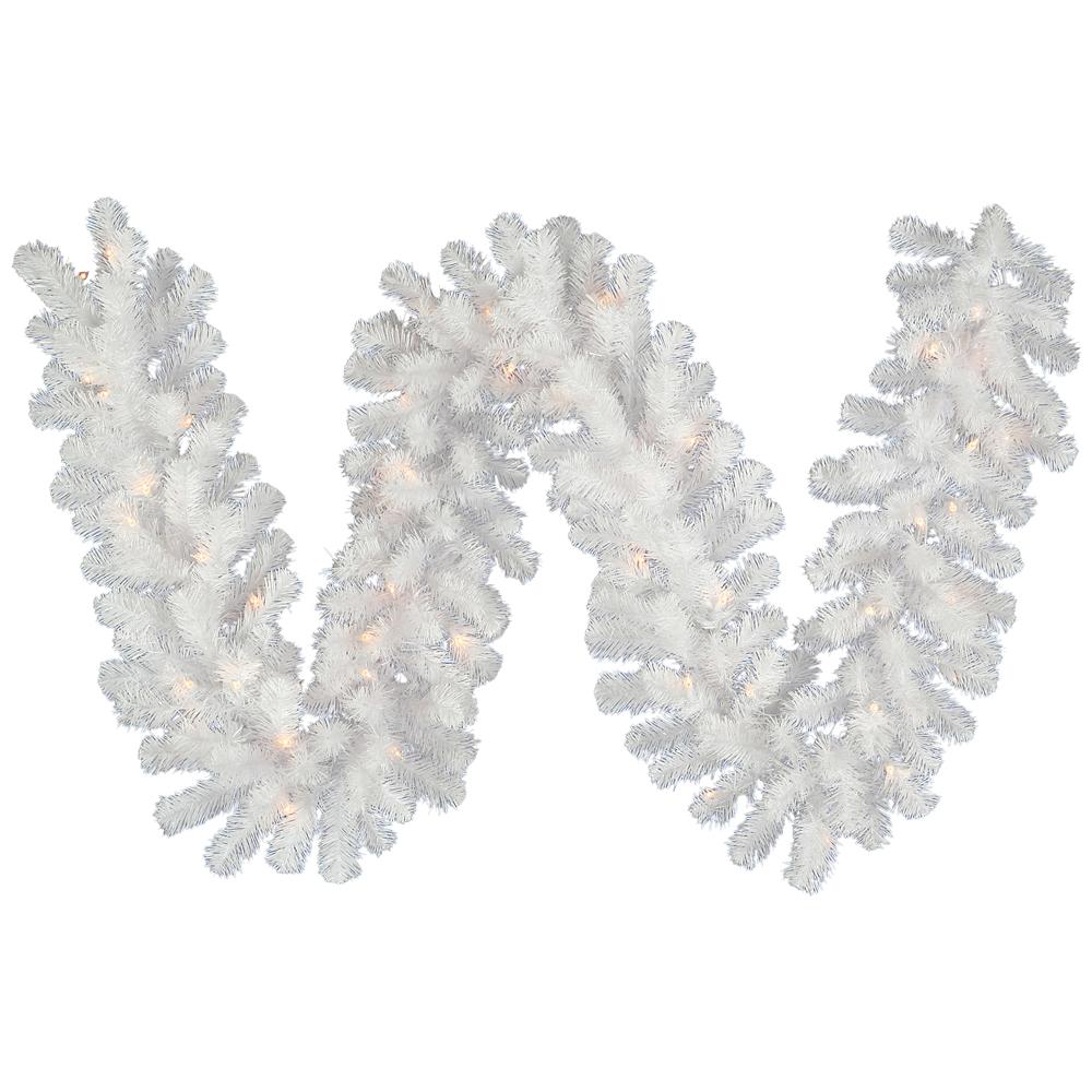 Crystal white garland vck