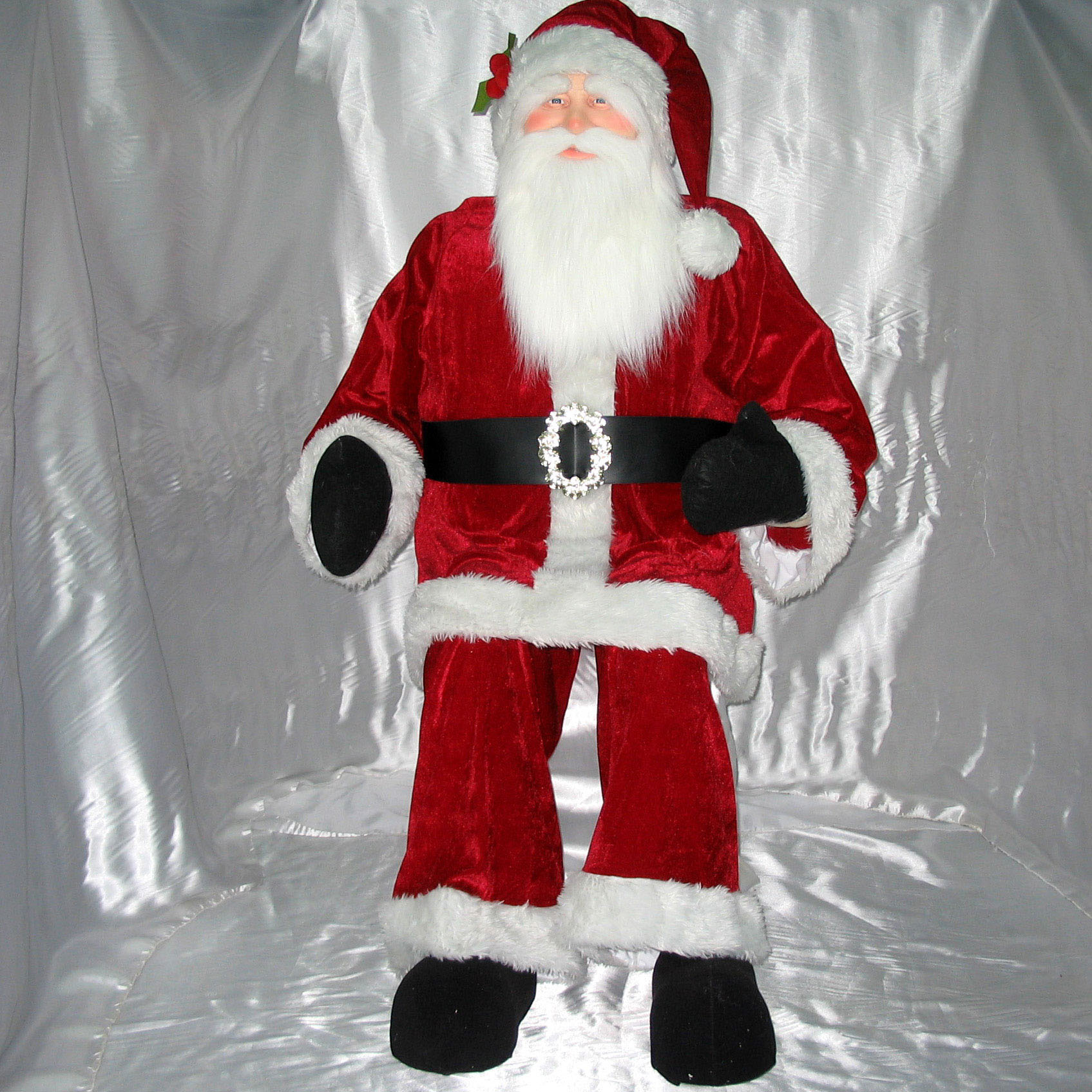 Valuable Red Velvet Santa Product Photo