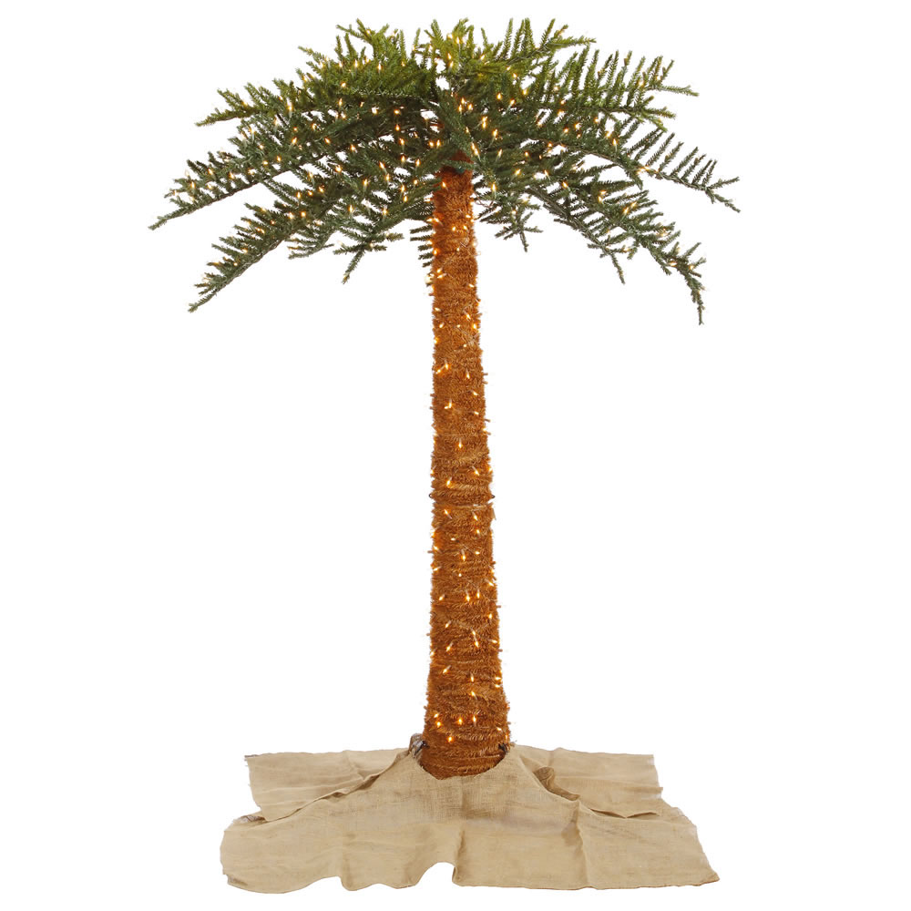 Christmas Lights Palm Trees: 10 Foot Outdoor UV Protected Royal Palm Christmas Tree