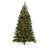 75 foot grand teton half christmas tree clear leds