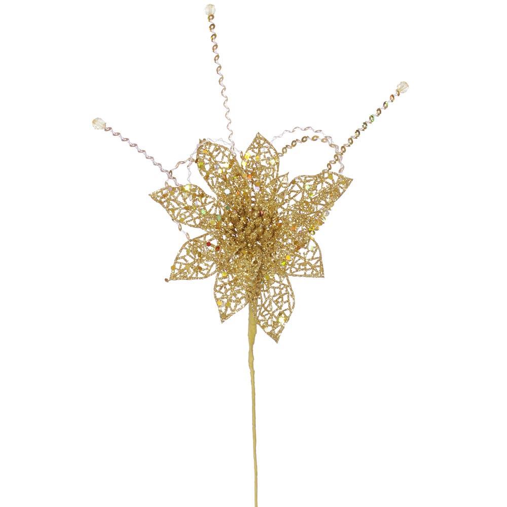Artificial Poinsettia Christmas Trees