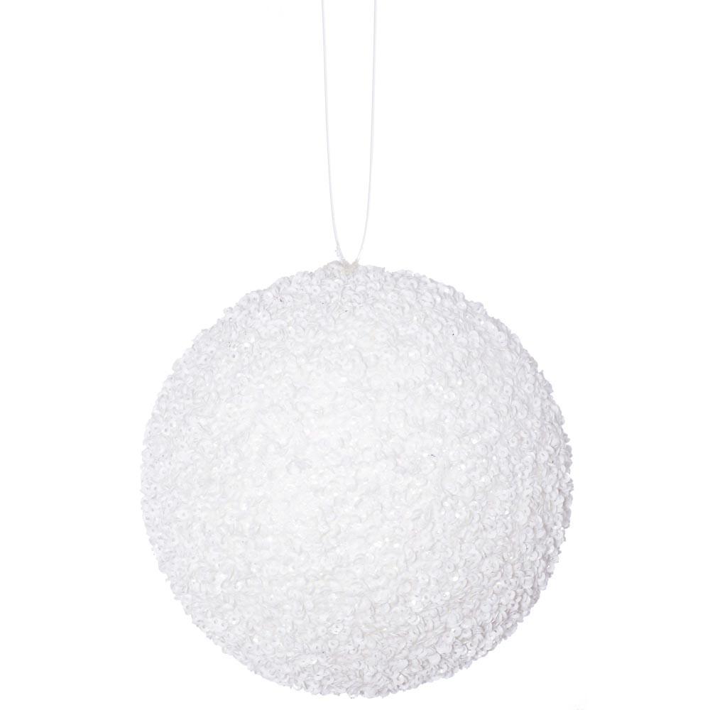 4.75 inch Artificial Beaded Sequin Ball Ornament (set of 3) J134202, J134203, J134207, J134208