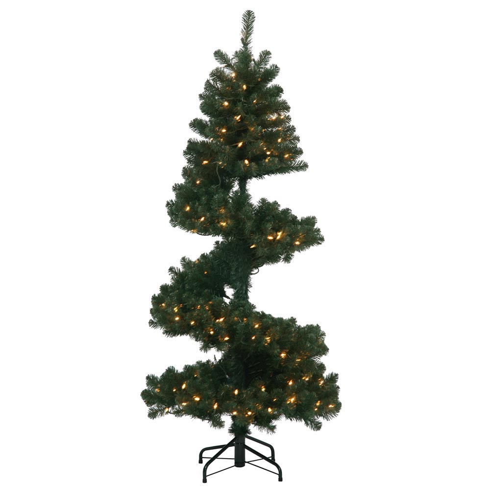Artificial Spiral Christmas Pine Tree | VCK4391