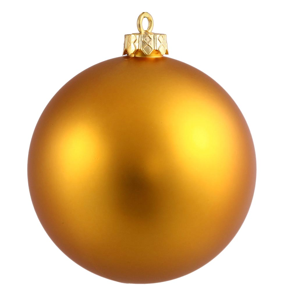 Inch matte finished uv shatterproof christmas ball