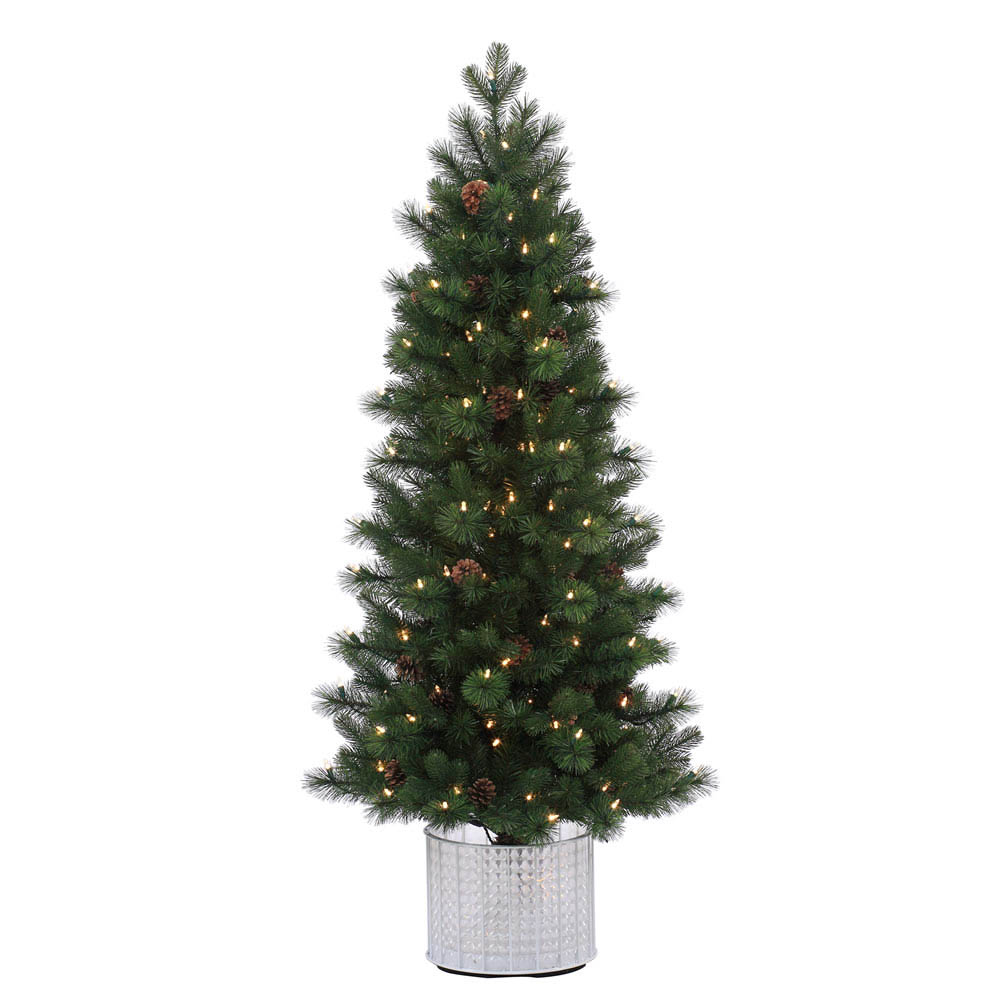 Wonderful Pe-Pvc-Potted-Hard-Needle-Stockton-Spruce-Tree Product Image 2734