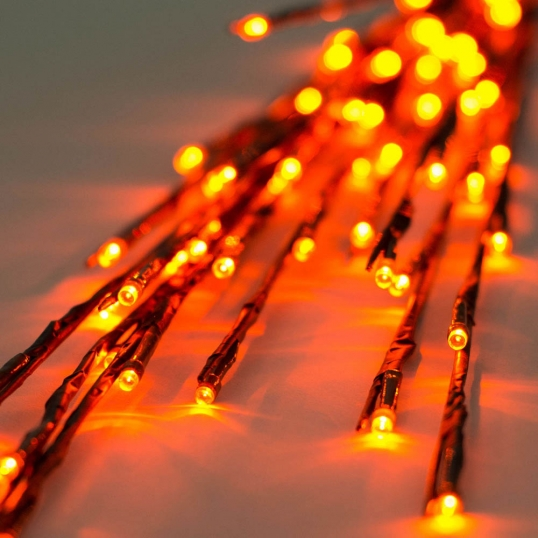 36 inch outdoor tall led twig lights 3 twigs orange lights x15b608 slim logo 36 inch outdoor tall led twig lights 3 twigs orange lights aloadofball Images