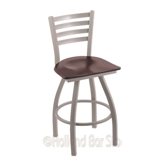 Holland Bar Stool Co X410 36 Inch Wood Jackie Swivel Heavy Duty