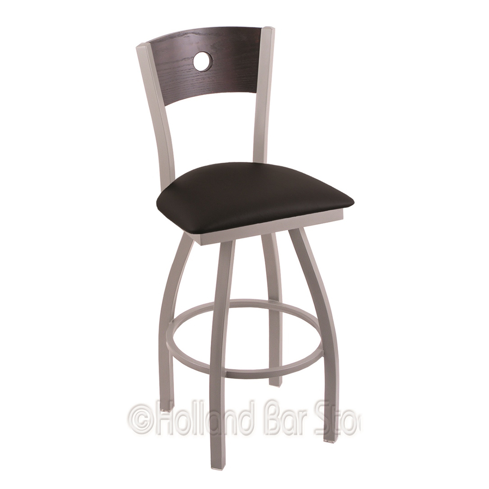 Trustworthy Xl Voltaire Swivel Counter Heavy Duty Stool Extra Wide Cushion Seat Product Photo