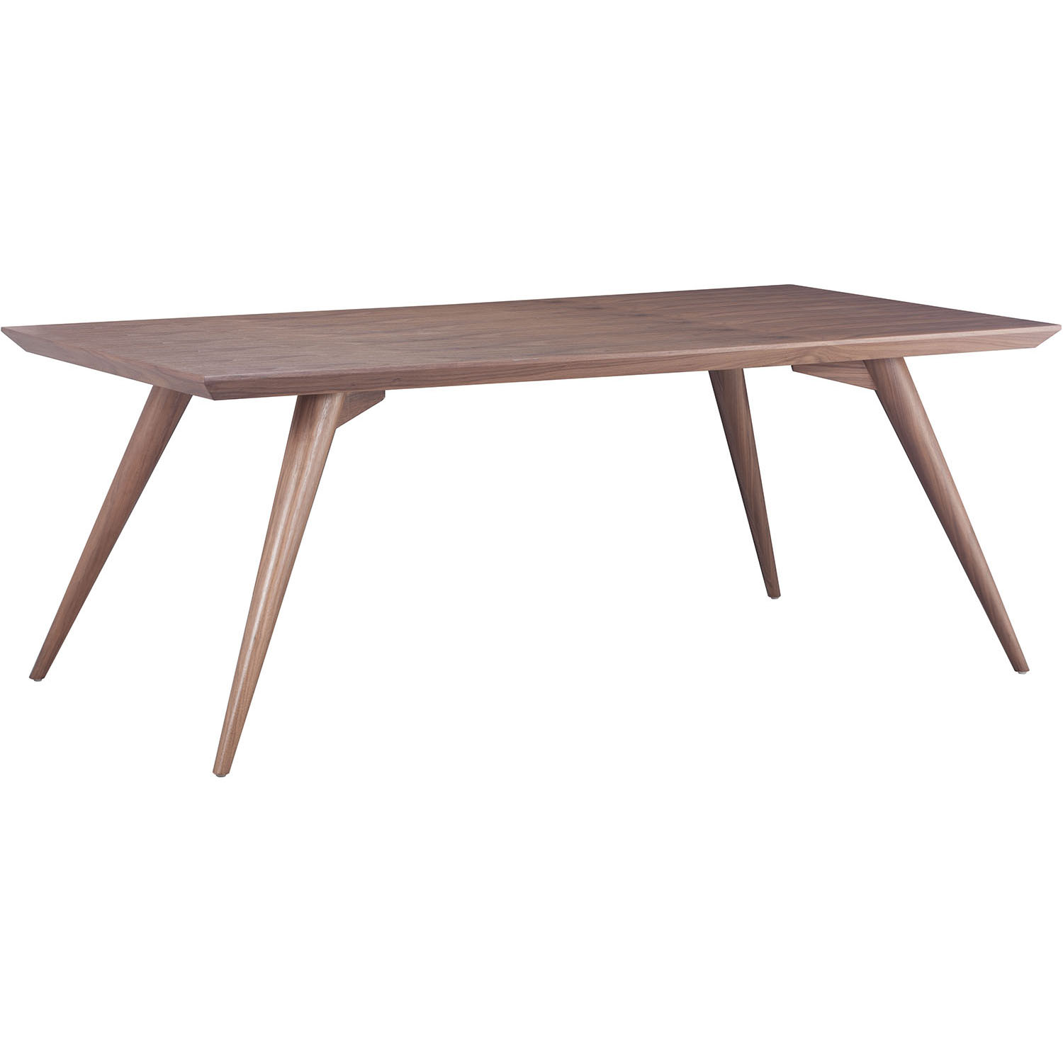 Choose Modern Stockholm Walnut Dining Table 5 1743