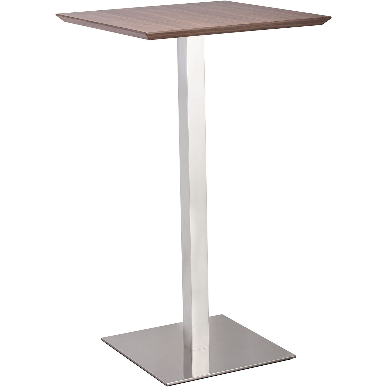 Unique Modern Malmo Bar Table Walnut Product Photo