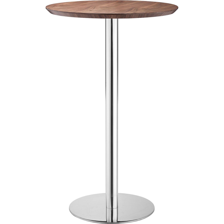 Outstanding Modern Bergen Bar Table Walnut 13 2331