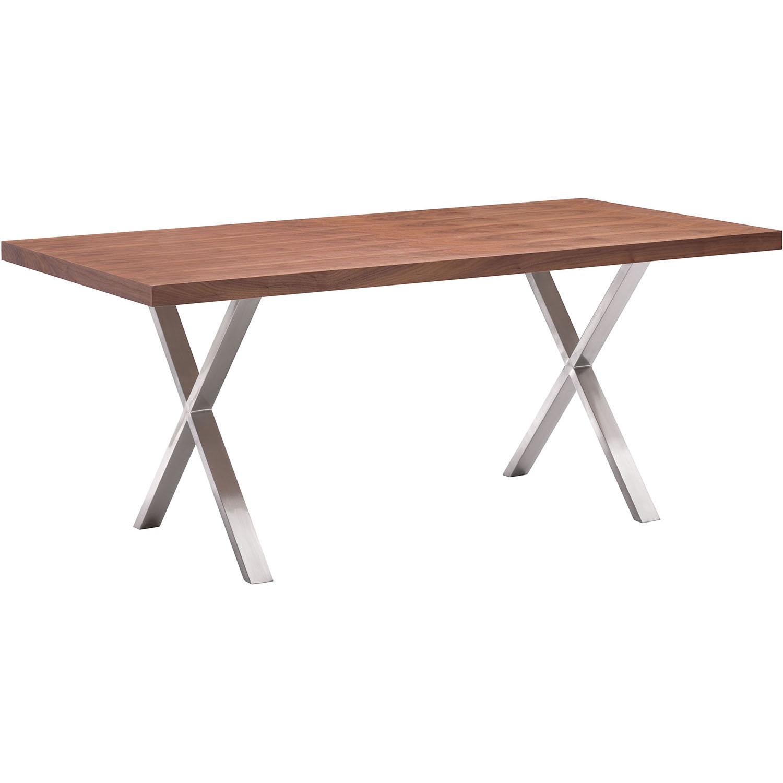 Valuable Modern Renmen Walnut Dining Table 18 2289