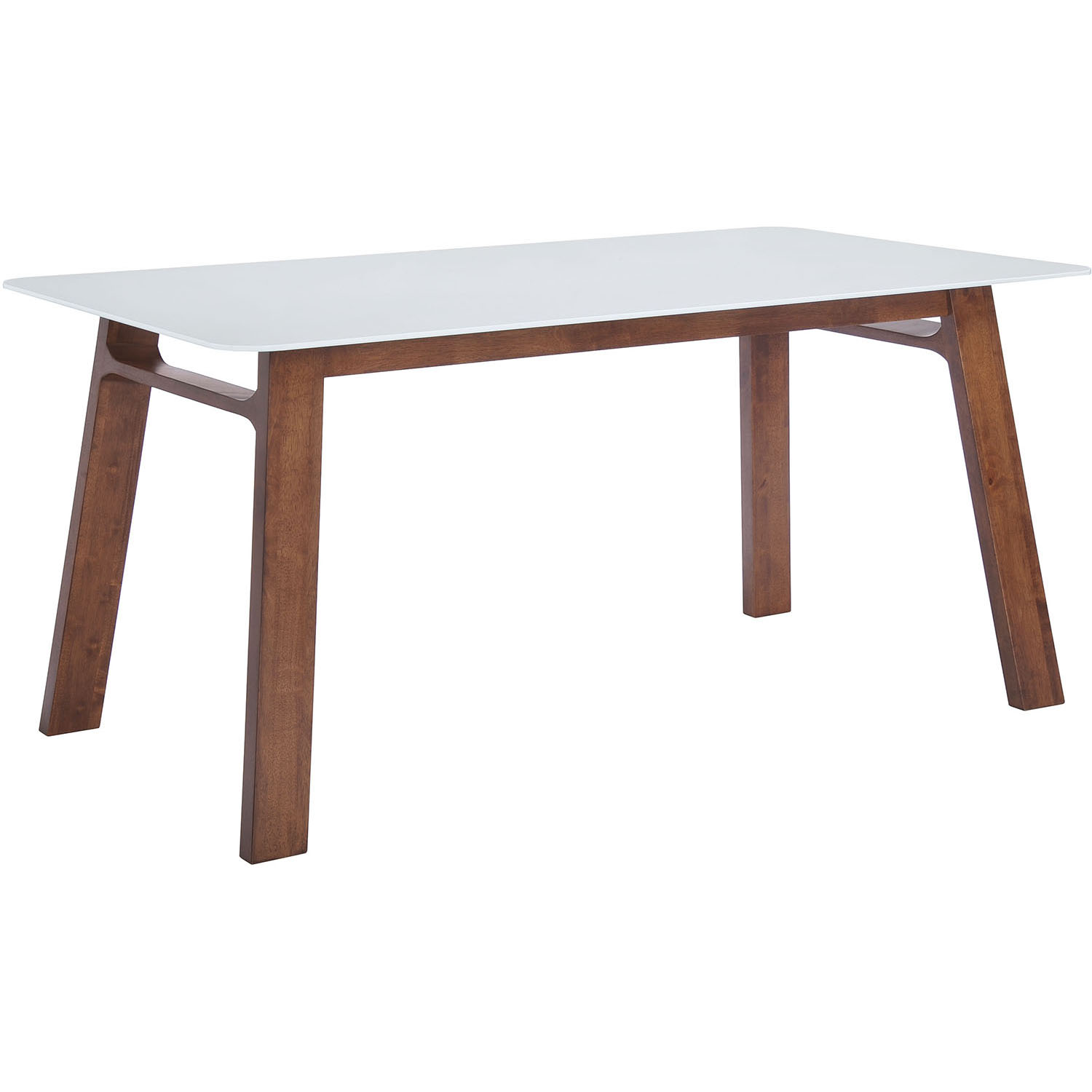 User friendly Modern Coconut Grove Walnut Dining Table Product Photo