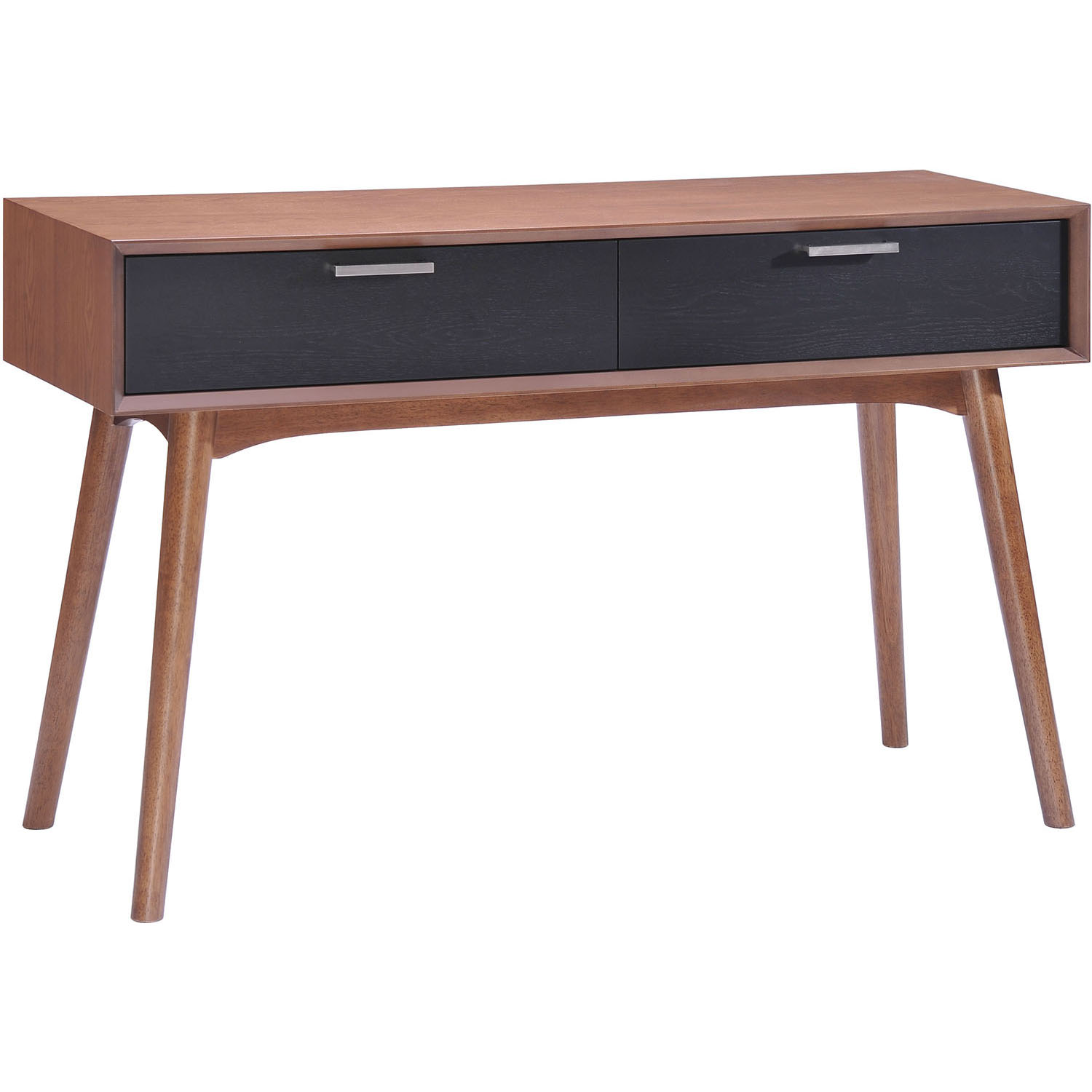 Beautiful Modern Liberty City Console Table Walnut  Product Photo