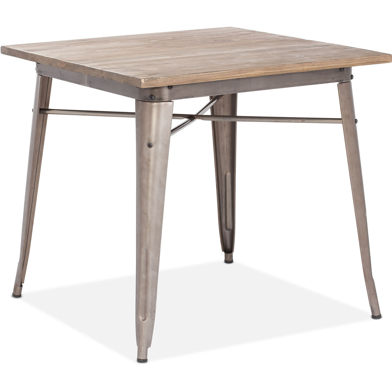 Choose Era Titus Rustic Wood Dining Table 10 2266