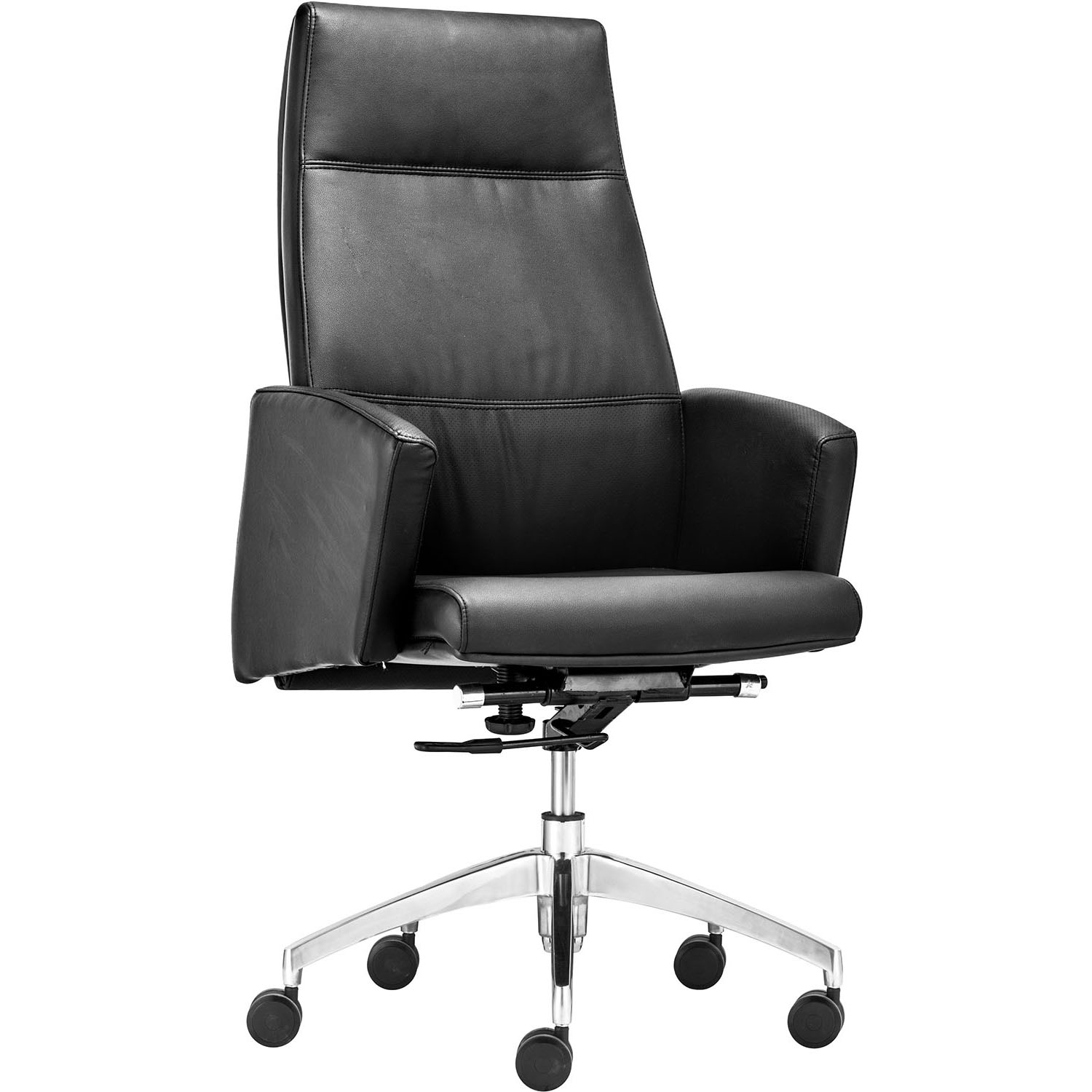 Chieftain High Back Adjustable Rolling Office Chair 206080, 206081