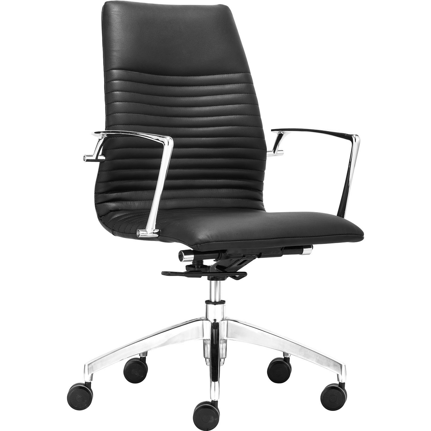 Lion Low Back Adjustable Rolling Office Armchair 206170, 206171