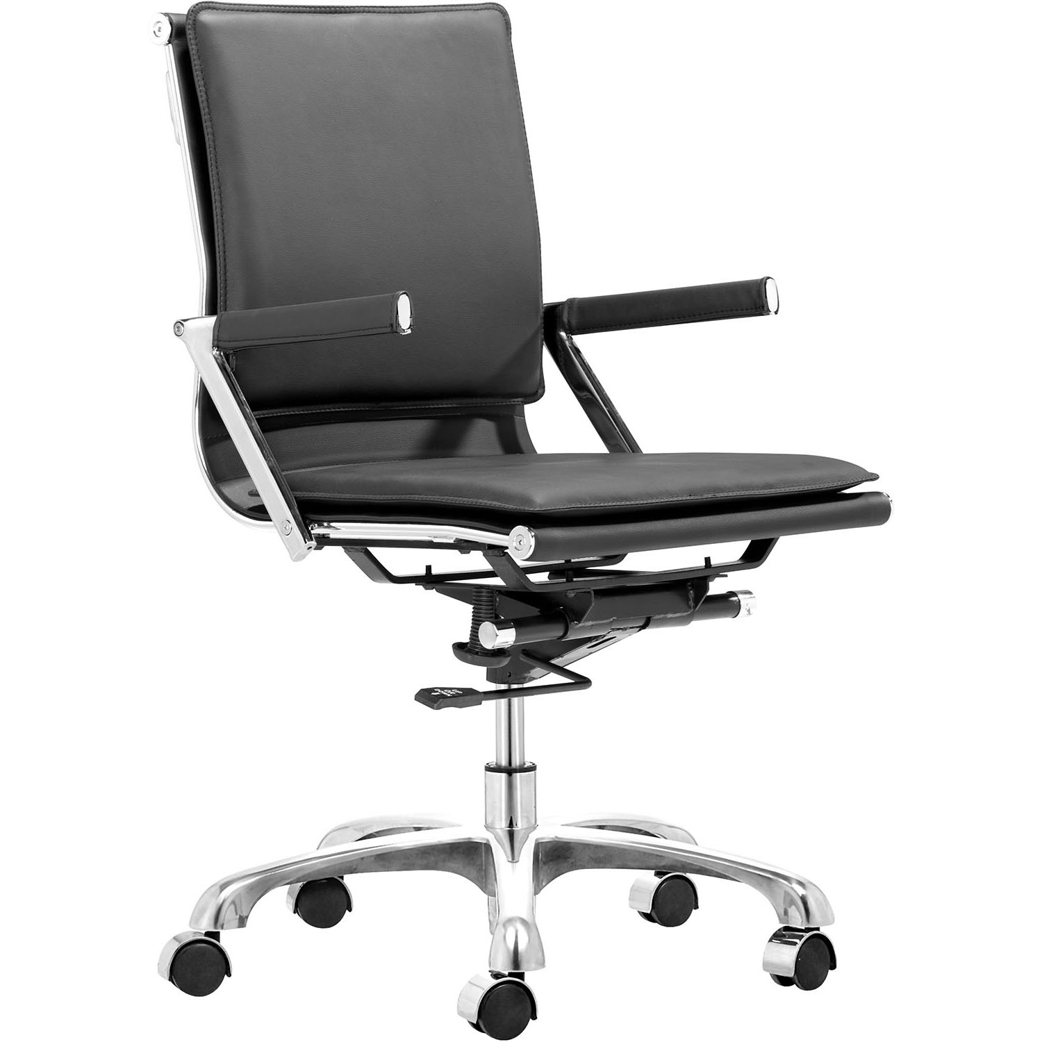 Modern Lider Plus Adjustable Rolling Office Armchair 215212, 215214