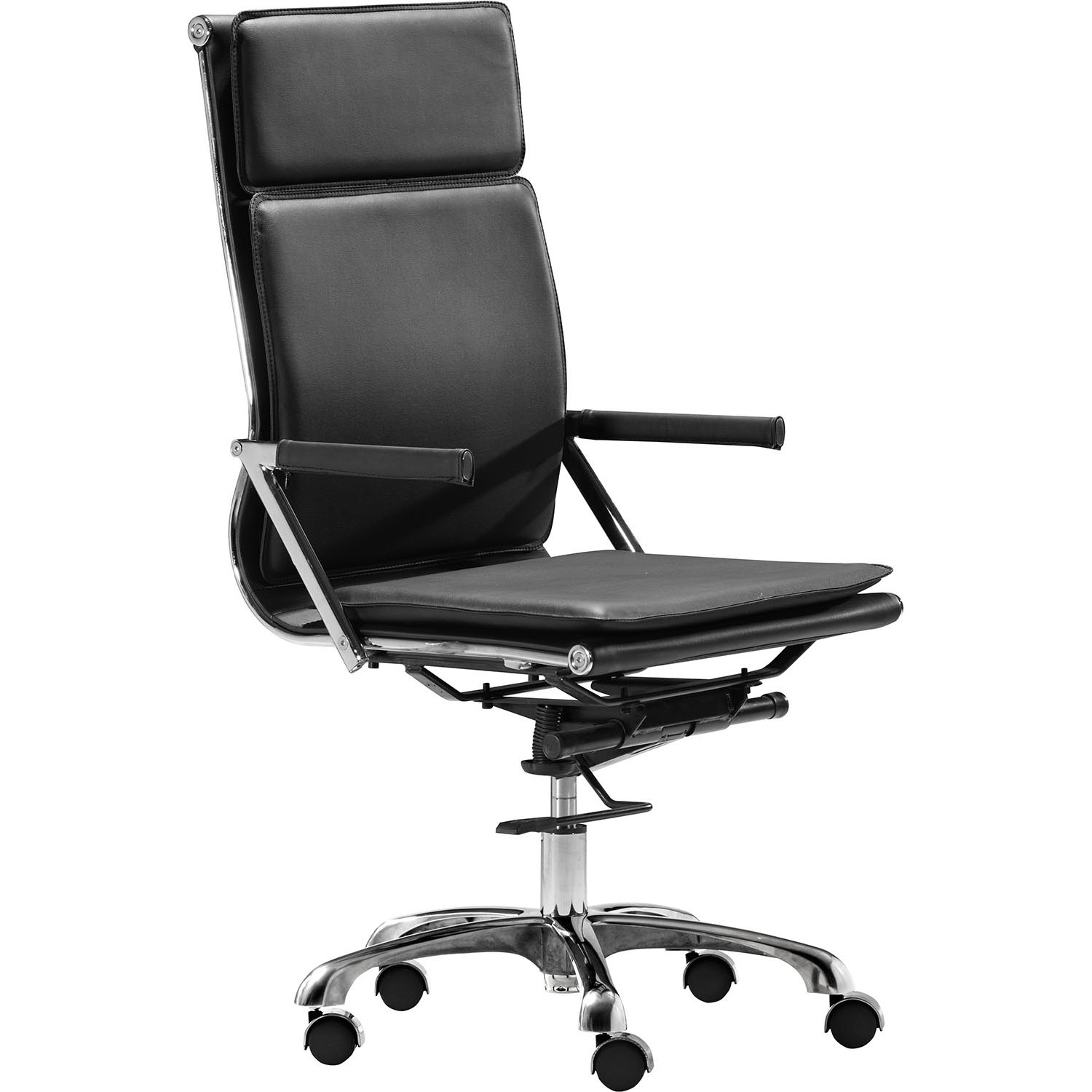 Lider Plus High Back Adjustable Rolling Office Armchair 215231, 215232